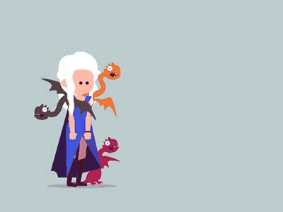 It needs dependencies to animate, either css (which is a bit fiddly) or a javascript lib. daenerys vs white walker by Fran Solo on Dribbble