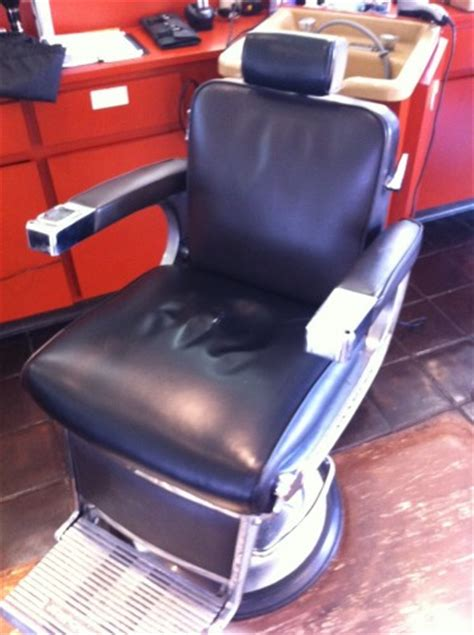 4 belmont barber chairs near san fran for sale