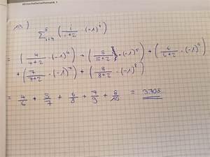 Berechnen Sie : berechnen sie folgenden ausdruck summenzeichen ~ Themetempest.com Abrechnung
