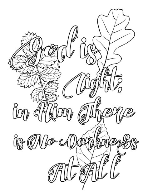 bible coloring page  bible quotes coloring pages bundle