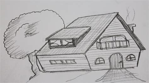 Wie Zeichnet Man Ein Haus Youtube