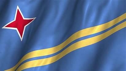 Aruba Flag National Symbol Hope Peace Waving