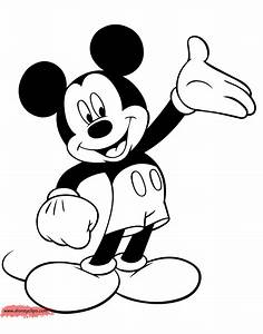 Mickey Mouse Coloring Pages | Disney Coloring Book