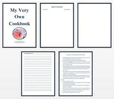 cook with us free template printable cookbook templates editable categories tabs