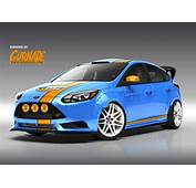 Custom Ford Focus ST Show Cars Headed For SEMA