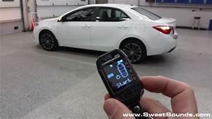 2016 Toyota Corolla Push To Start Manual Transmission