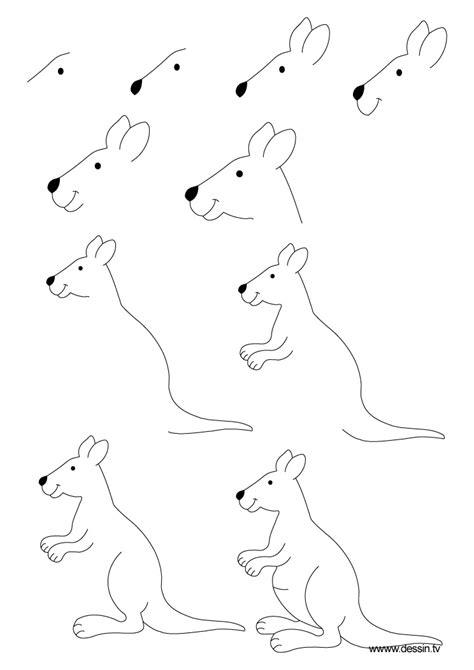 drawing kangaroo