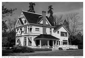 Black and White Picture/Photo: Victorian house, Ardenwood ...