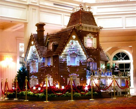 Life-size Gingerbread House At Disney's Grand Floridian