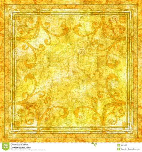 yellow batik background royalty  stock image image