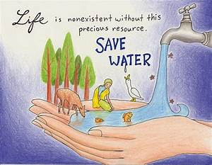 HD All Wallpapers: Save Water Best Slogan Poster