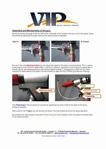 Vip Polyurea Instructions Manual Quick Spray 600ml Gb