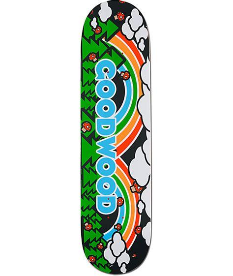 Zumiez Blank Skate Decks by Goodwood Rainbow 8 0 Quot Skateboard Deck