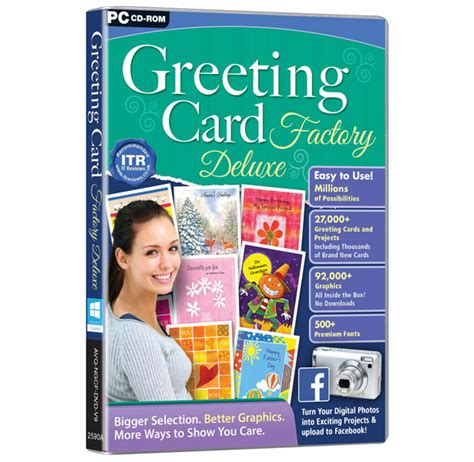greeting card factory deluxe  bigger selection