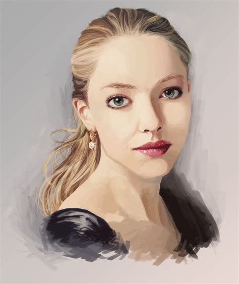 Amanda Seyfried  Digital Painting By Reminiscexx On
