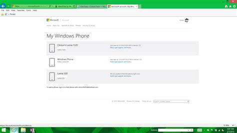 new devices page on microsoft accounts reflect windows 10 look clintonfitch