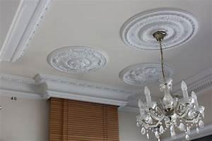 rosace de faux plafond modeles 2017 decoration plafond With modele de platre decoration