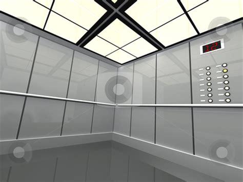 large elevator stock photo