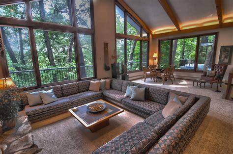Wonderful Sunken Sitting Areas Designs