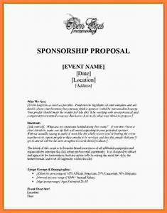 6 event sponsorship proposal template free bussines With sports team sponsorship proposal template