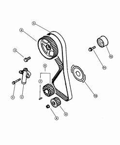 Chrysler Sebring Bolt  M10x35  Belt  Timing