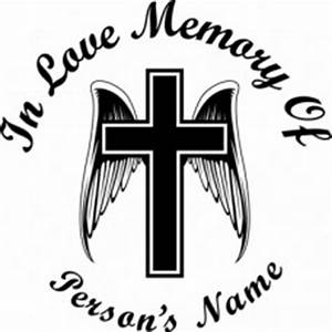 in loving memory 08 With memory cross template