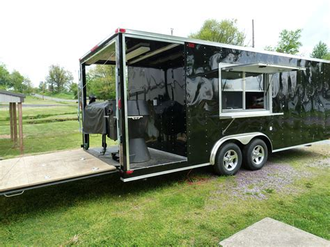 bbq trailer with porch bbq porch trailer 32ft studio design gallery best