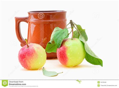 how many apples in a cup cup and apple royalty free stock images image 10376049