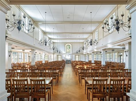 dining hall  millbrook school  voith mactavish