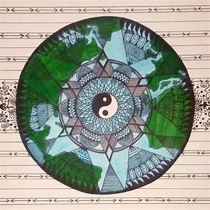 Earth Mandala By Wayne Arts Inc Crystal B Astrology