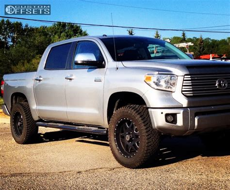 Wheels For Toyota Tundra by Wheel Offset 2015 Toyota Tundra Aggressive 1 Outside