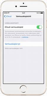 iphone 6s käyttöönotto