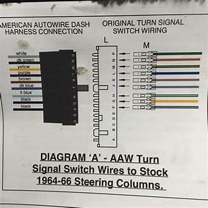 American Autowire Harness -- U0026gt  Repro Turn Signal Switch