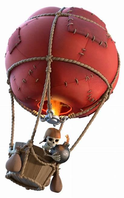 Clash Balloon Clans Balloons Ballon Level Troop