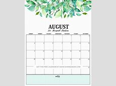 Print FREE Calendar 2019 with Daily Planner!