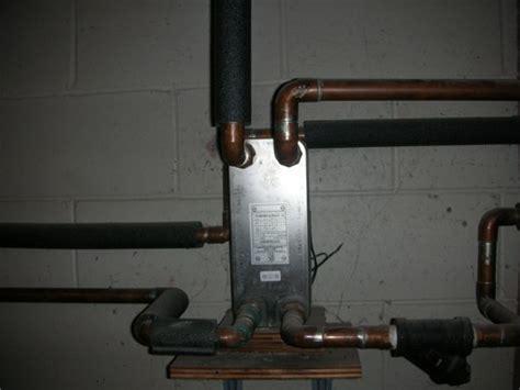 plate heat exchanger heat  home  hot water