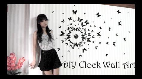 diy clock wall art  youtube