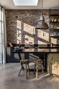 Cuisine Deco Industrielle : deco cuisine style industriel ~ Carolinahurricanesstore.com Idées de Décoration