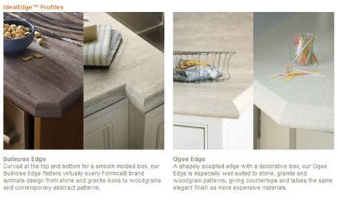 Laminate Countertop Edge Styles by Only Your Contractor Knows For Sure Formica Ideal Edge