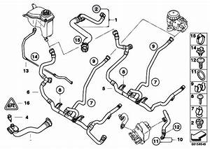Original Parts For E90 320i N46n Sedan    Radiator   Cooling System Water Hoses 2