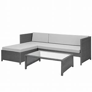 Lounge Garnitur Terrasse : casa pro poly rattan lounge eck sofa tisch garten garnitur polyrattan m bel ebay ~ Markanthonyermac.com Haus und Dekorationen