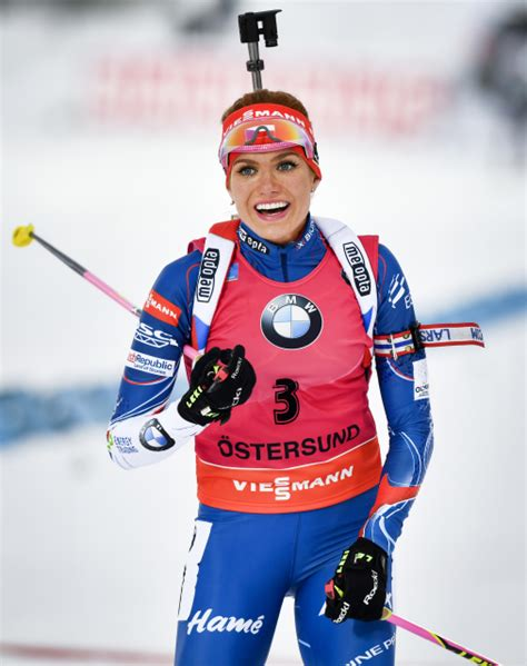 biathlon mademoiselle soukalova est devenue madame