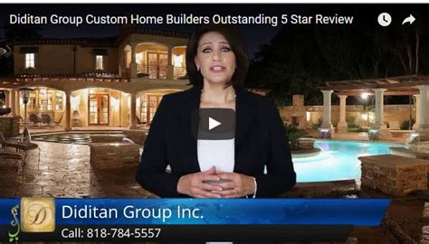Excellent 5star Review By Moshe A  Diditan Custom Home