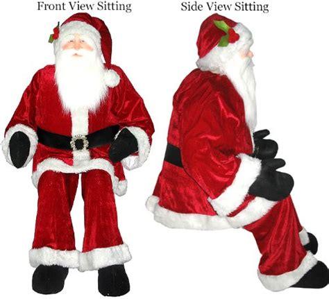 save 70 00 huge 6 foot life size decorative plush santa