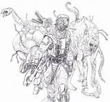 Coloring Flood Halo Elites Draw Getdrawings Related Getcolorings Justcoloring sketch template