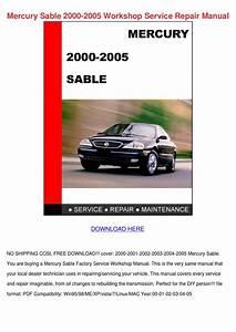 Mercury Sable 2000 2005 Workshop Service Repa By Maryam