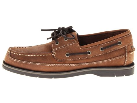 Leather Boat Shoes by New Sebago Grinder Leather Boat Shoes Mens Size 9 Ebay