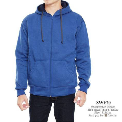 Jual Jaket Distro Rsch jual jaket hodie biru pasangan pria wanita