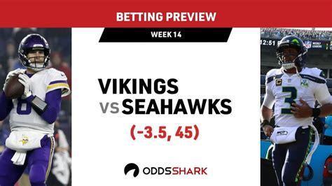 nfl week  minnesota vikings  seattle seahawks betting