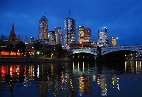Melbourne Cbd At Dusk  Picture Of Melbourne, Victoria